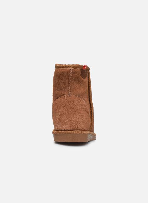 Bottines et boots Les Tropéziennes par M Belarbi Winter Marron vue droite