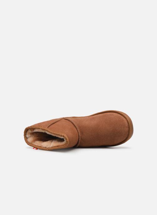 Bottines et boots Les Tropéziennes par M Belarbi Winter Marron vue gauche