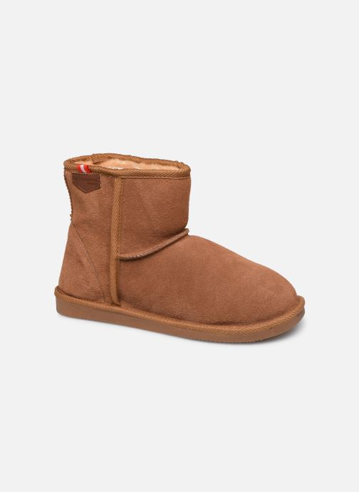 Bottines et boots Les Tropéziennes par M Belarbi Winter Marron vue détail/paire