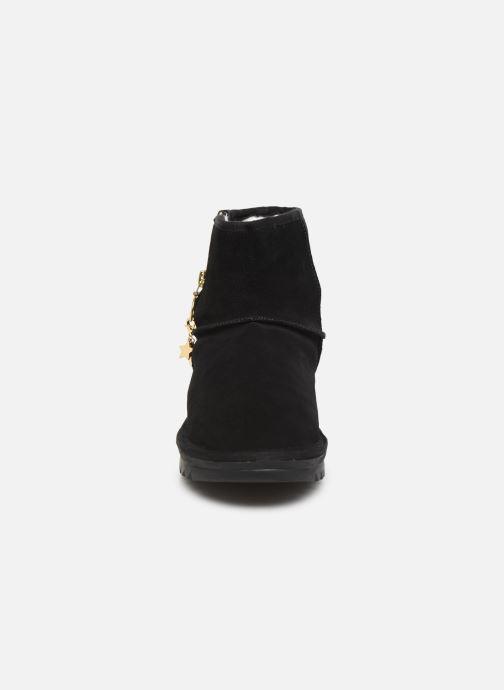 Bottines et boots Les Tropéziennes par M Belarbi Laziza Noir vue portées chaussures