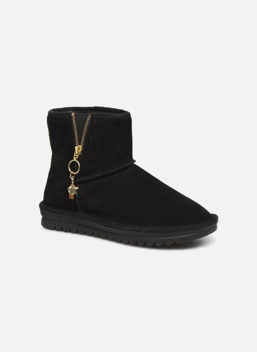 Bottines et boots Les Tropéziennes par M Belarbi Laziza Noir vue détail/paire