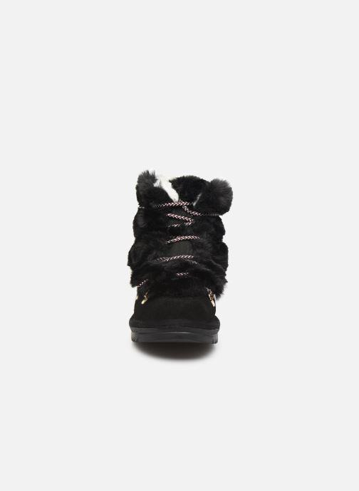 Bottines et boots Les Tropéziennes par M Belarbi Laurence Noir vue portées chaussures