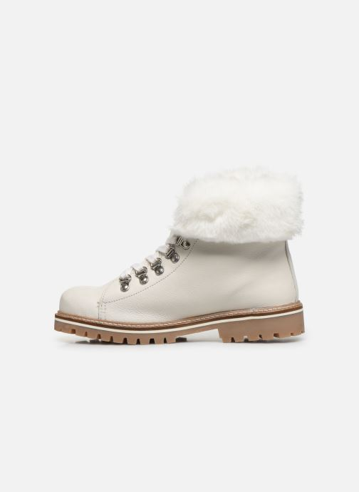 Bottines et boots Les Tropéziennes par M Belarbi Lacen Blanc vue face