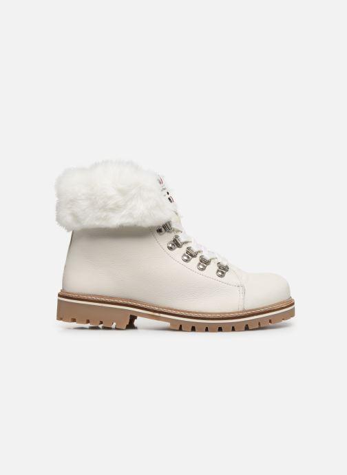 Bottines et boots Les Tropéziennes par M Belarbi Lacen Blanc vue derrière