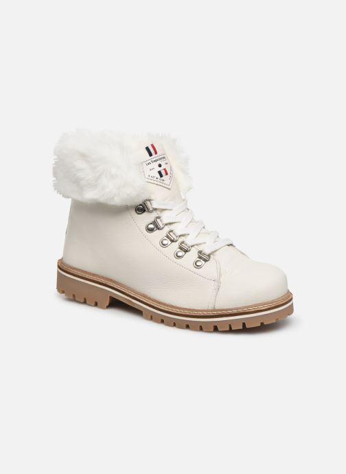 Bottines et boots Les Tropéziennes par M Belarbi Lacen Blanc vue détail/paire