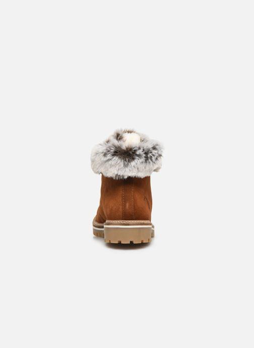 Bottines et boots Les Tropéziennes par M Belarbi Lavinia Marron vue droite