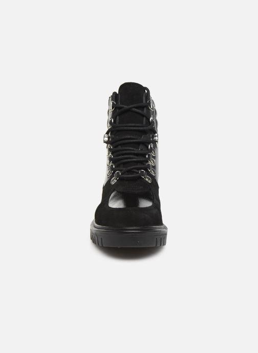 Bottines et boots Les Tropéziennes par M Belarbi Zaza Noir vue portées chaussures