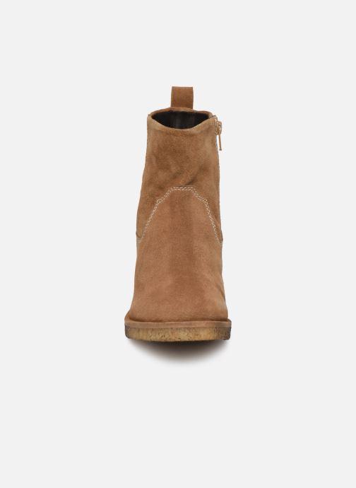 Boots en enkellaarsjes Les Tropéziennes par M Belarbi Anais Bruin model