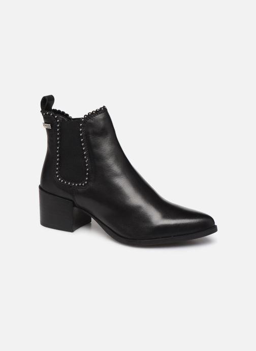 Ankle boots Les Tropéziennes par M Belarbi Katou Black detailed view/ Pair view
