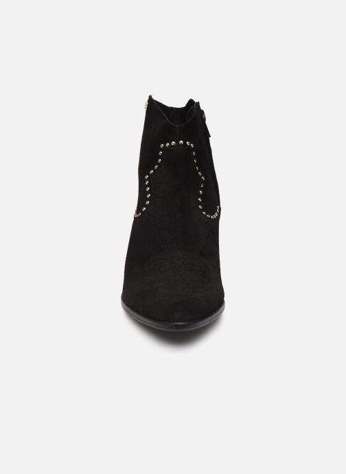 Ankle boots Les Tropéziennes par M Belarbi ASTRID Black model view