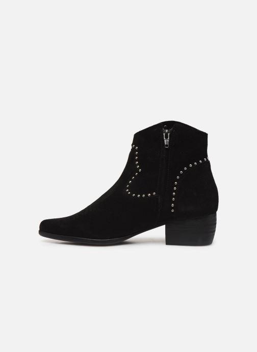 Ankle boots Les Tropéziennes par M Belarbi ASTRID Black front view