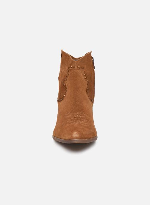 Bottines et boots Les Tropéziennes par M Belarbi ASTRID Marron vue portées chaussures