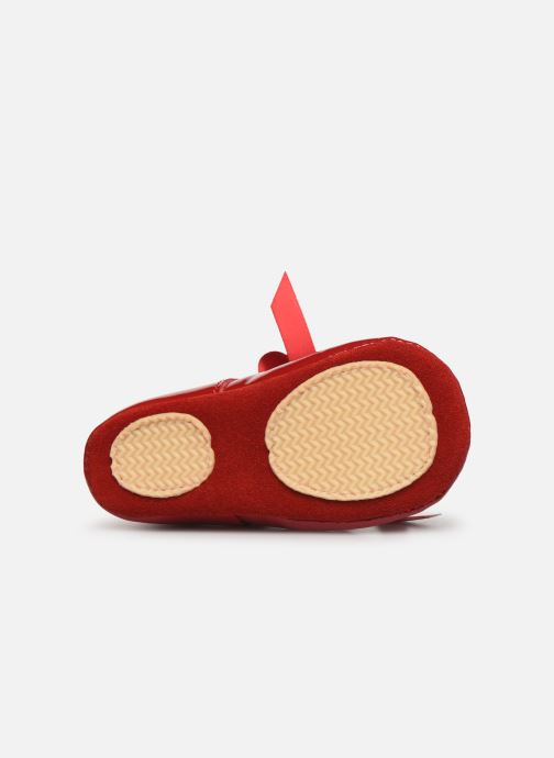 Slippers Patt'touch Alienor Charles Ix Red view from above