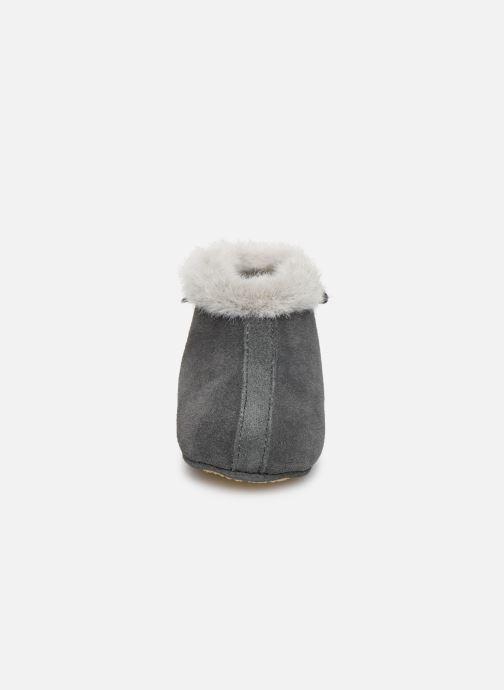 Slippers Patt'touch Aime Bottine Fourré Grey model view