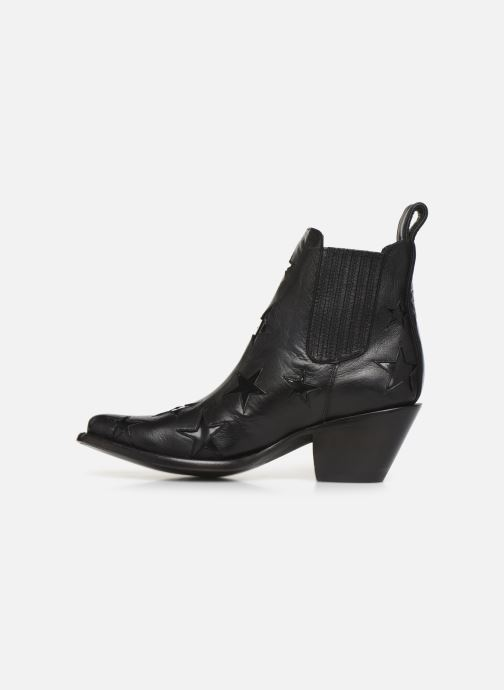 Ankle boots Mexicana Circus Etoiles Vernies Black front view