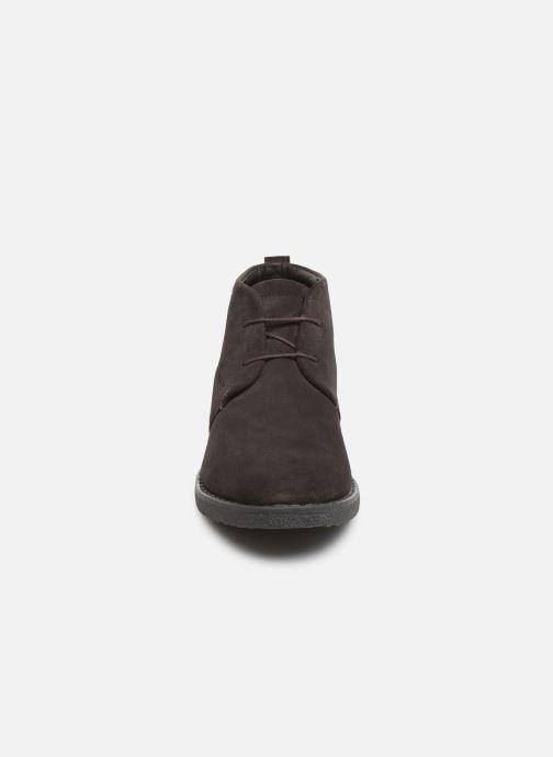 Bottines et boots Geox U BRANDLED Marron vue portées chaussures