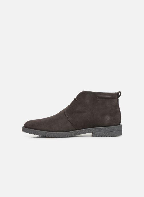 Stiefeletten & Boots Geox U BRANDLED braun ansicht von vorne