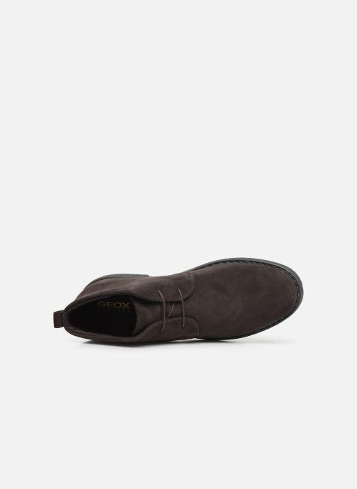 Stiefeletten & Boots Geox U BRANDLED braun ansicht von links
