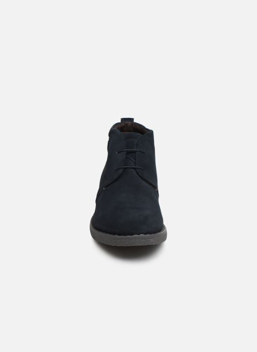 Ankle boots Geox U BRANDLED Blue model view