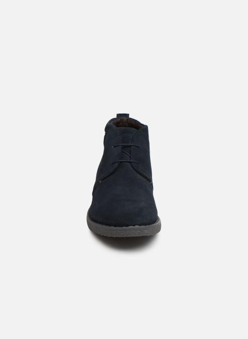 Bottines et boots Geox U BRANDLED Bleu vue portées chaussures