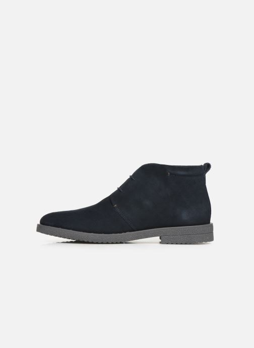 Ankle boots Geox U BRANDLED Blue front view