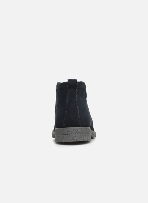 Ankle boots Geox U BRANDLED Blue view from the right