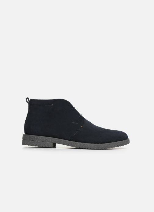 Ankle boots Geox U BRANDLED Blue back view