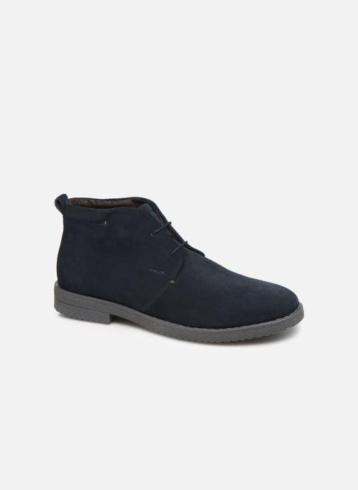 Ankelstøvler Geox U BRANDLED Blå detaljeret billede af skoene