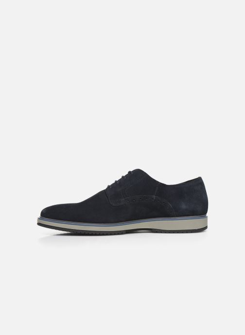Lace-up shoes Geox U TYREN Blue front view