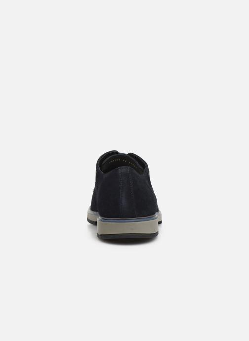 Zapatos con cordones Geox U TYREN Azul vista lateral derecha