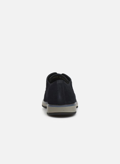 Lace-up shoes Geox U TYREN Blue view from the right