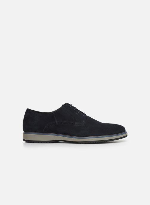 Zapatos con cordones Geox U TYREN Azul vistra trasera