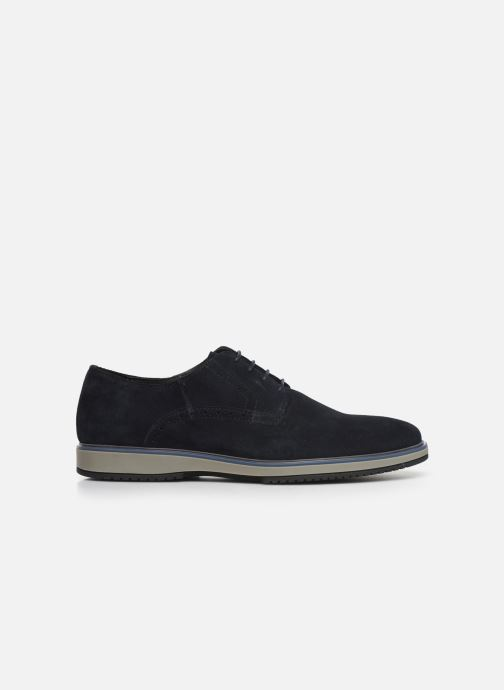 Lace-up shoes Geox U TYREN Blue back view