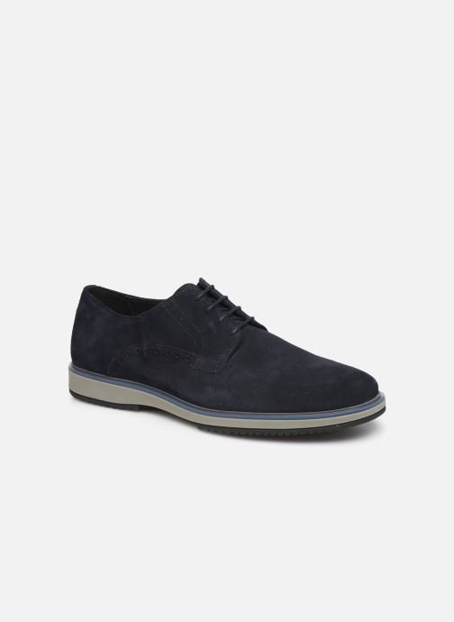 Lace-up shoes Geox U TYREN Blue detailed view/ Pair view