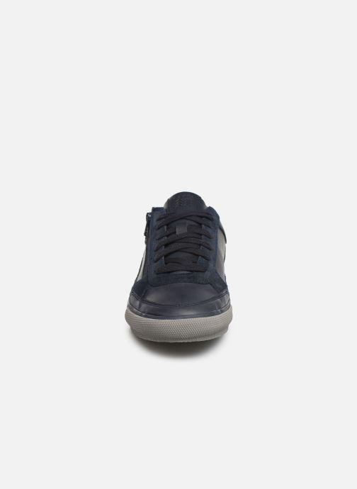 Baskets Geox U KAVEN Bleu vue portées chaussures