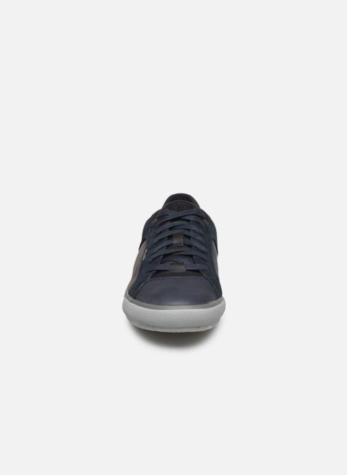 Sneaker Geox U KAVEN blau schuhe getragen