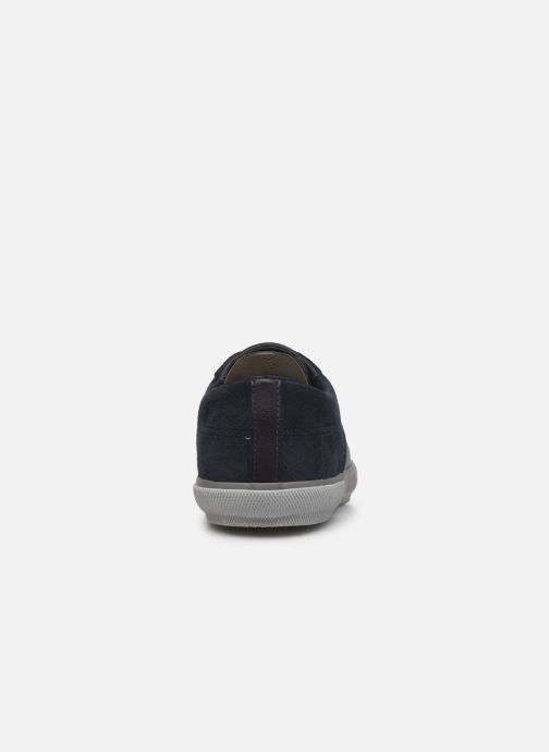 Trainers Geox U KAVEN Blue view from the right