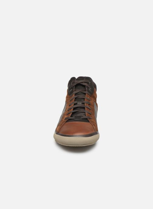 Trainers Geox U KAVEN Brown model view