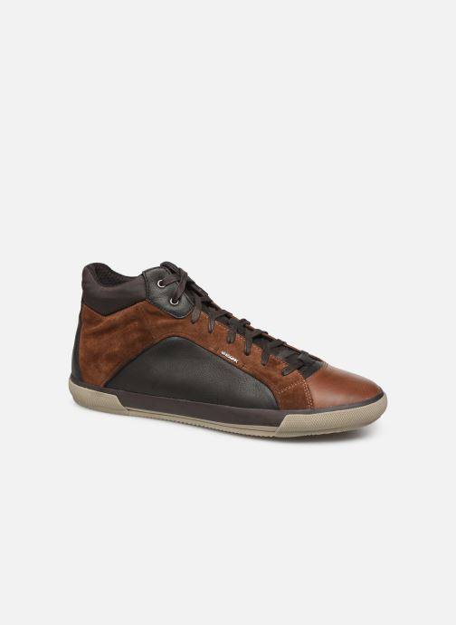 Trainers Geox U KAVEN Brown detailed view/ Pair view