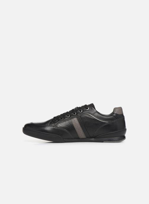 Sneakers Geox U Kristof Zwart voorkant