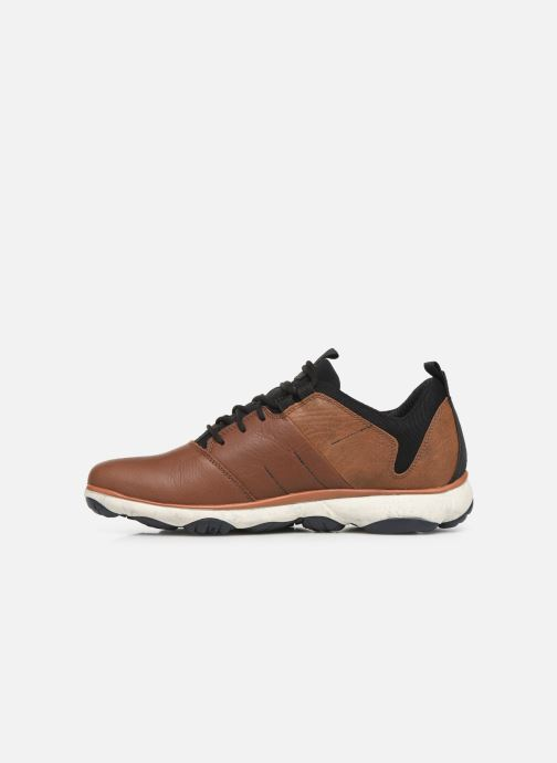 Sneakers Geox U NEBULA 4 X 4 B ABX Marrone immagine frontale