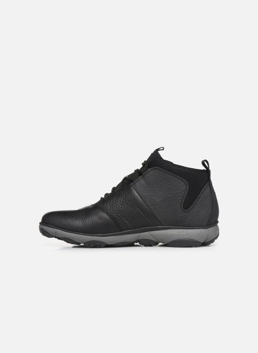 Sneaker Geox U NEBULA 4 X 4 B ABX schwarz ansicht von vorne