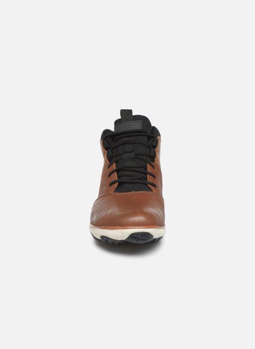 Baskets Geox U NEBULA 4 X 4 B ABX 2 Marron vue portées chaussures