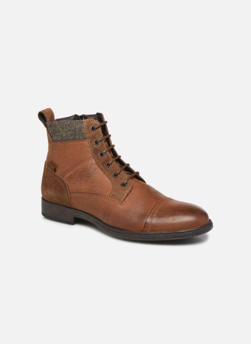 Bottines et boots Geox U JAYLON Marron vue détail/paire
