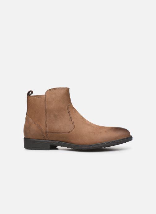 Bottines et boots Geox U JAYLON Marron vue derrière
