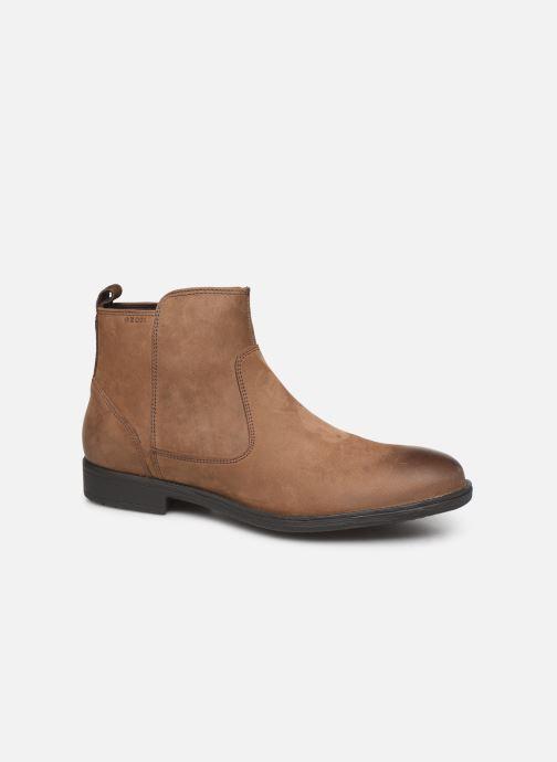 Ankelstøvler Geox U JAYLON Brun detaljeret billede af skoene