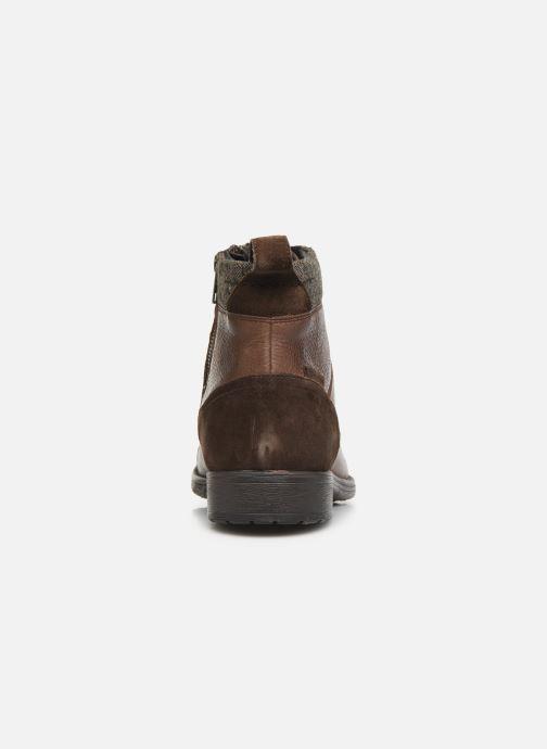 Boots en enkellaarsjes Geox U JAYLON high Bruin rechts