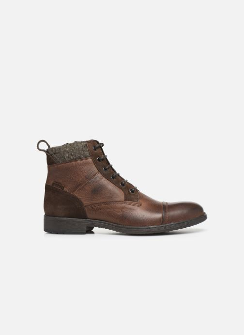 Boots en enkellaarsjes Geox U JAYLON high Bruin achterkant