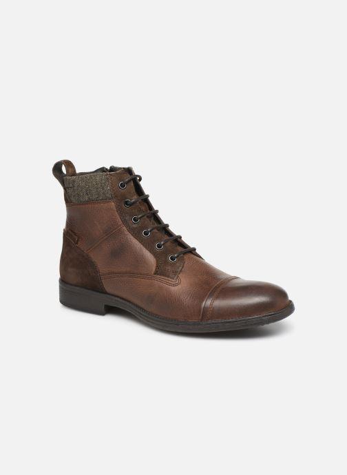 Boots en enkellaarsjes Geox U JAYLON high Bruin detail