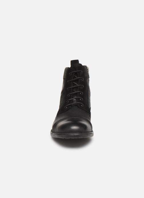 Bottines et boots Geox U JAYLON high Noir vue portées chaussures